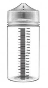 Sticla Plastic Gradata - Chubby - 200ml  pentru lichid diy vape - voore.ro